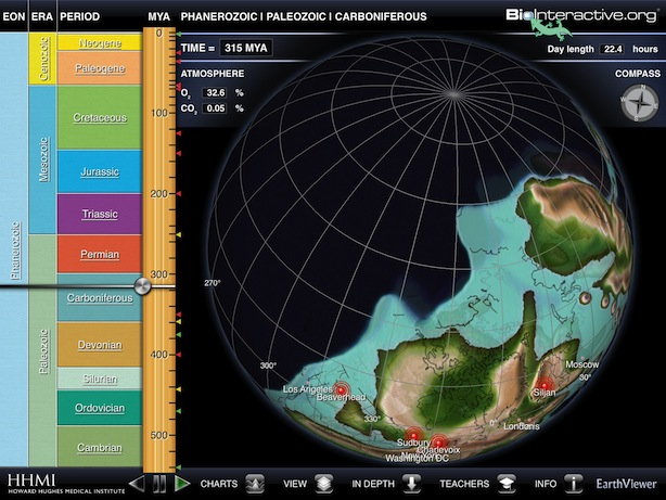 Earth Viewer iPad App