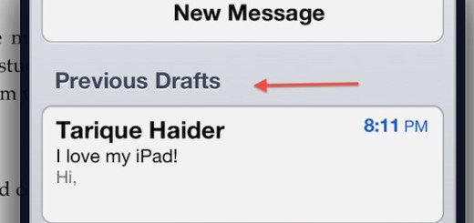 mail ipad tips