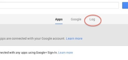 Google+ +1 Activity Log