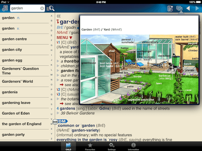 Oxford Advanced Learner's Dictionary – An App that Worked for Me