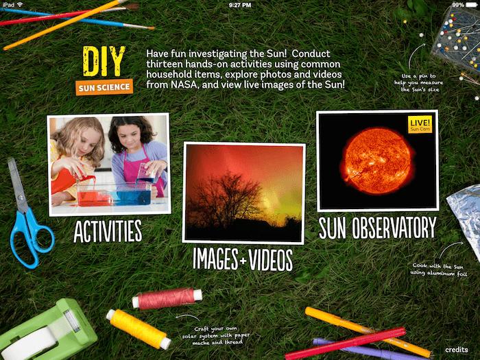 ipad app kids science