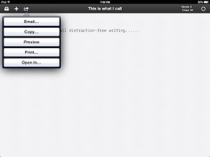 iA Writer- A Great Distraction-Free Focused Writing App For iPad